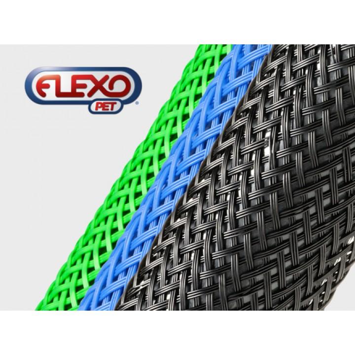 Techflex PTN0.75 Flexo Pet Розмір 19.05 mm, кабельна обплетення з великим діапазоном розтяжки та колірної гами
