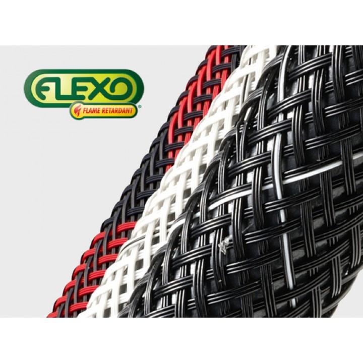 Techflex Flexo Flame Retardant кольорова вогнестійка кабельна оплетка