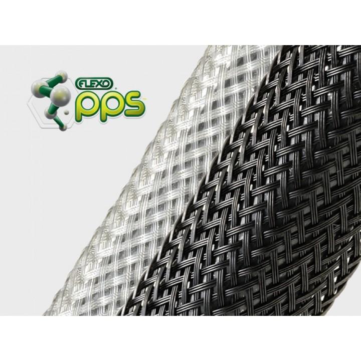 Techflex Flexo PPS Сверхлегкая, высокотемпературная из 8 мил волокон (PPS)