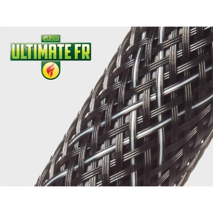 Techflex Flexo Ultimate FR высокопрочная и огнестойкая кабельная оплетка