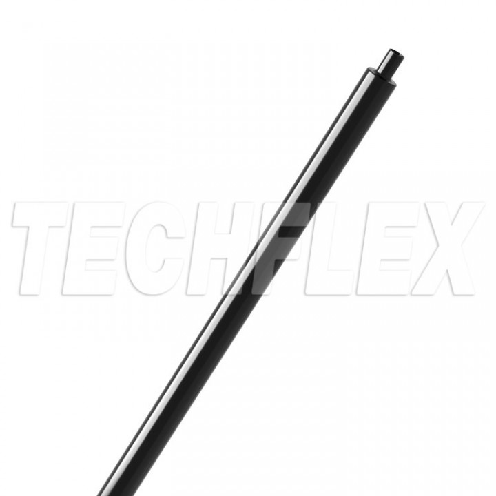 Techflex Shrinkflex 2:1 Glossy H2G0.25 Розмір 6.35 mm, тонкостінна поліолефінова термозбіжна трубка з глянцевою поверхнею