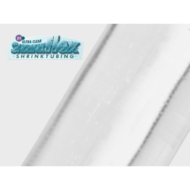 Techflex H2P0.75 Shrinkflex® 2:1 Ultra Clear PVC Размер 19.05 mm, прозрачная термоусадочная трубка ПВХ